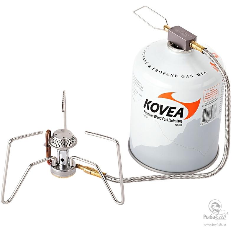 Газовая Горелка Kovea Spider горелка насадка газовая портативная пьезоподжигом огниво