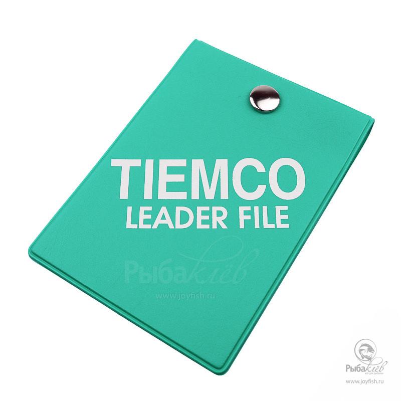 Кошелек для Лидеров Tiemco Leader File Green