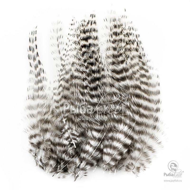 Перья Петуха Wapsi Dry Fly Neck Hackle Mini Pack Grizzly крючки одинарные в упаковке kumho dry fly