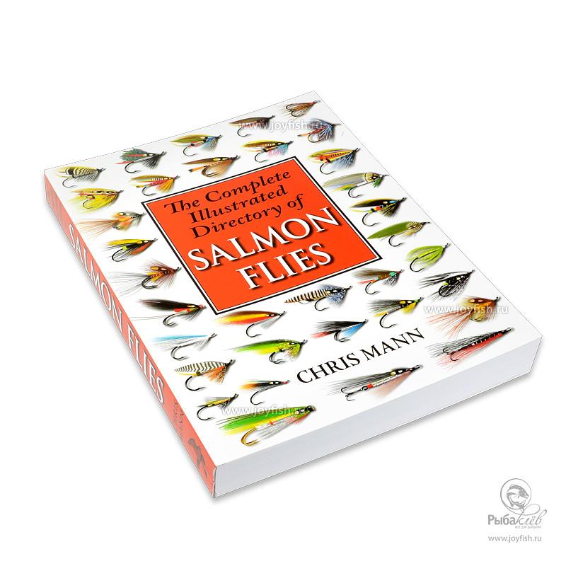 Книга Иллюстрированная Salmon Flies by Chris Mann уловистые мушки на хариуса