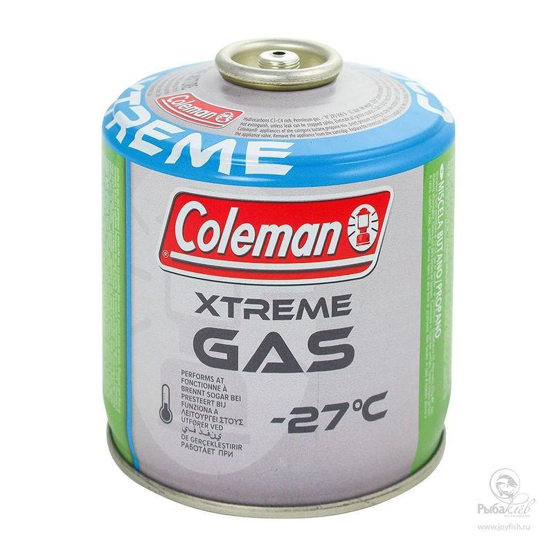Газовый Баллон Coleman C300 Xtreme газовый баллон coleman perfomance c500