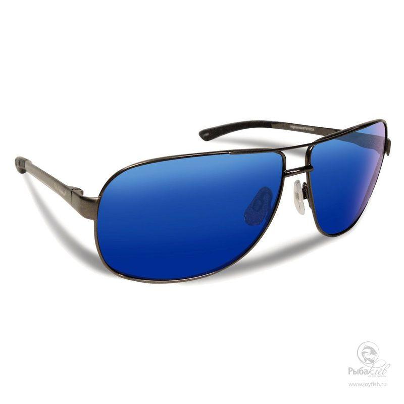Поляризационные Очки Flying Fisherman Highlander Smoke Blue Mirror