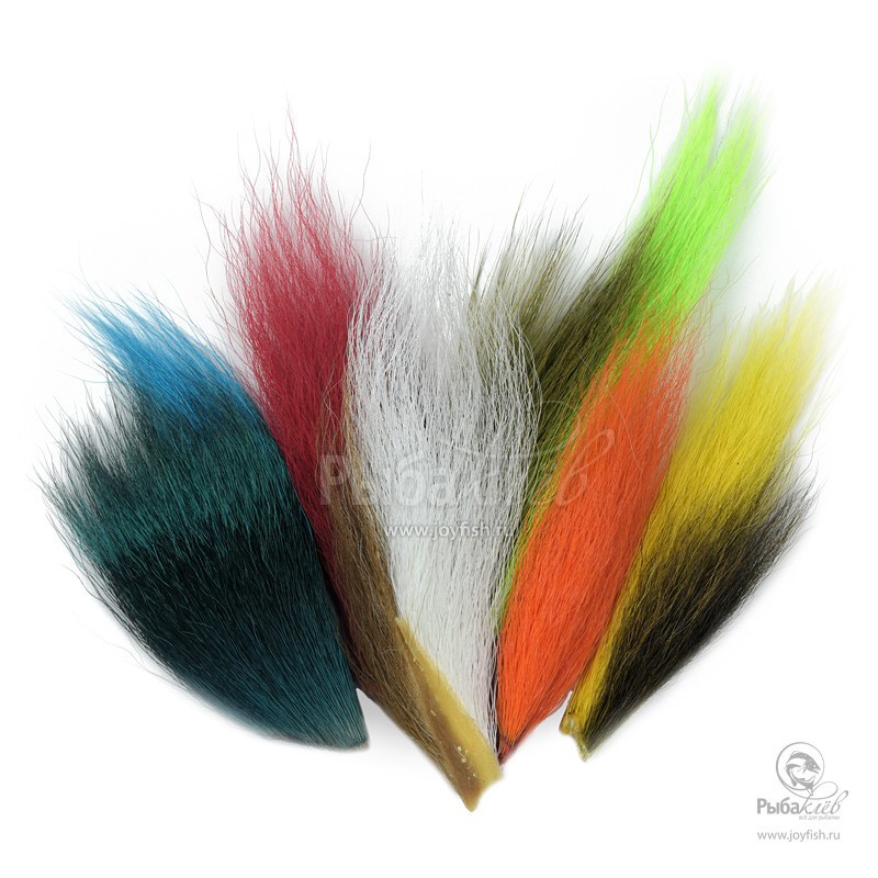 Набор Хвостов Оленя Joyfish Bucktail Mix уловистые мушки на хариуса