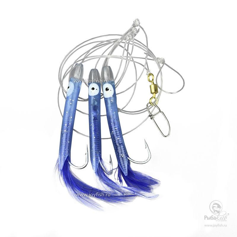 Оснастка Морская Balzer Tube Rig Blue мужской рюкзак для путешествий на 70 литров escape