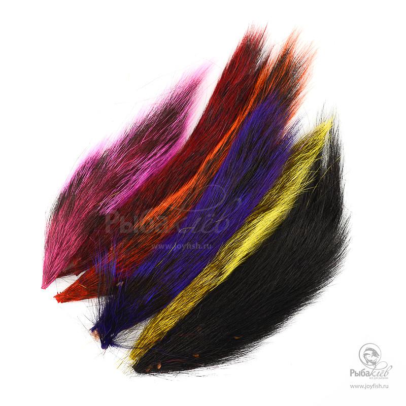 Набор Хвостов Белки Wapsi Squirrel Tail Assortment 6 Colors