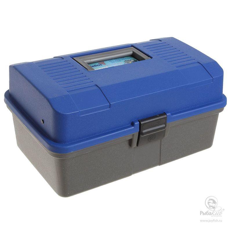 Ящик для Снастей Helios Двухполочный аксессуар helios ящик двухполочный blue