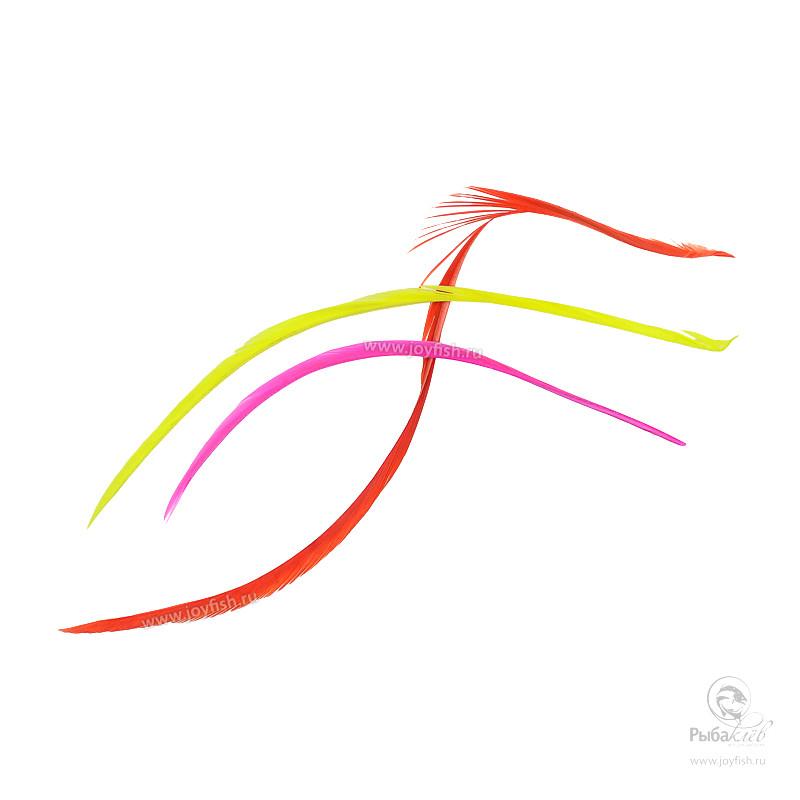Перья Гуся Veniard Goose Biots Mixed Fluorescent Colours