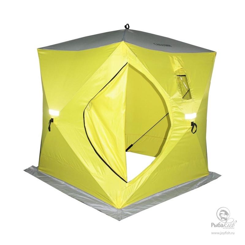 Палатка Зимняя Сахалин 2 палатка военная 3х3 высота 2 метра и выше
