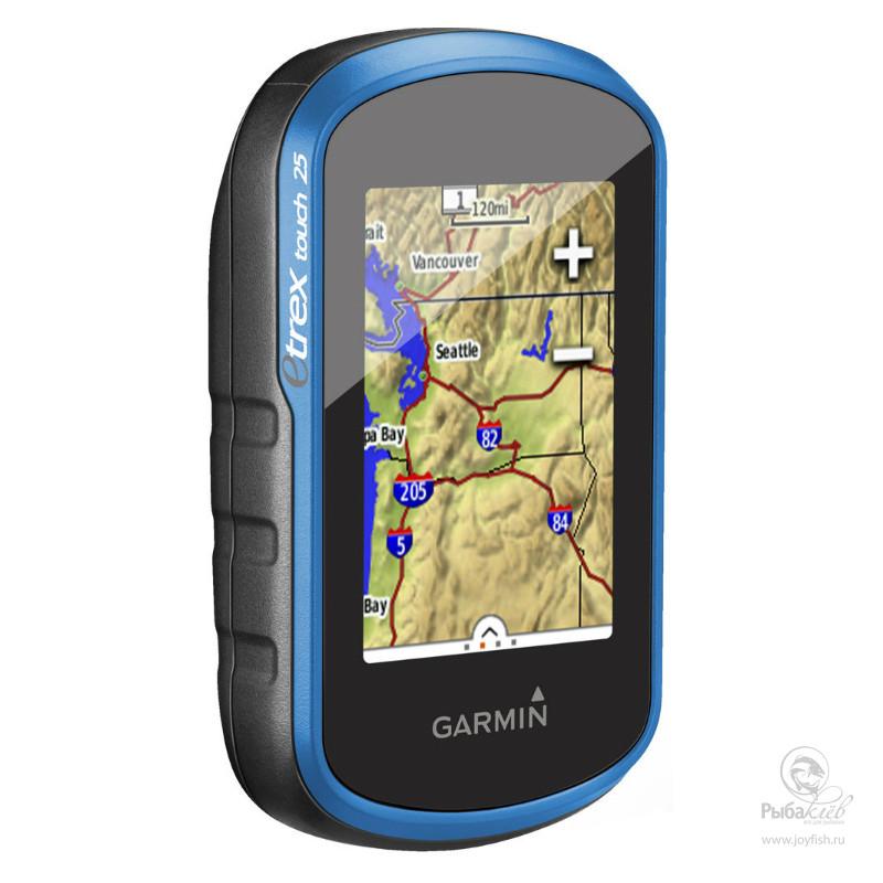 Туристический Навигатор Garmin eTrex Touch 25 GPS/GLONASS