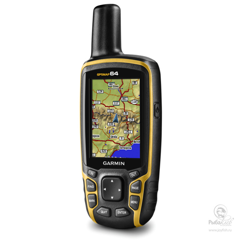 Туристический Навигатор Garmin GPSMAP 64 Russia