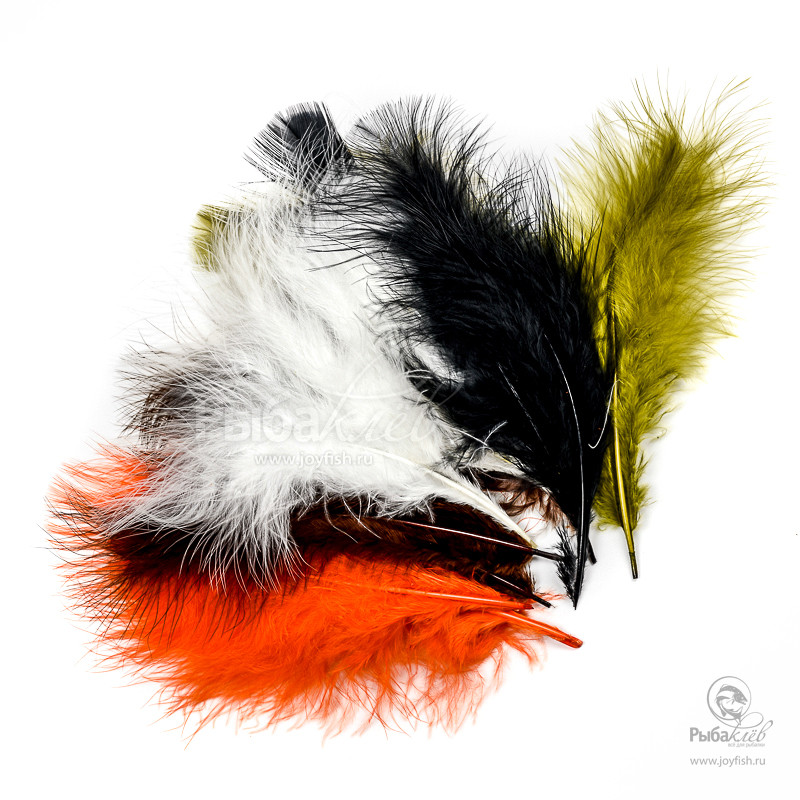Перья Марабу Veniard Turkey Marabou Mixed