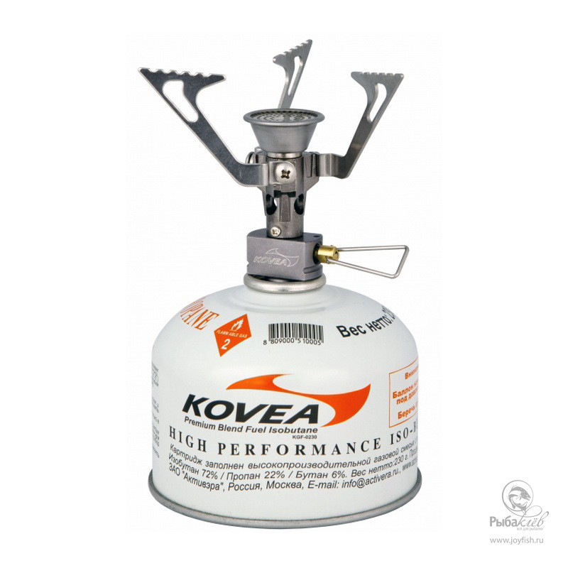 Газовая Горелка Kovea Flame Tornado горелка газовая kovea expedition stove camp 1 tkb n9703 1l со шлангом