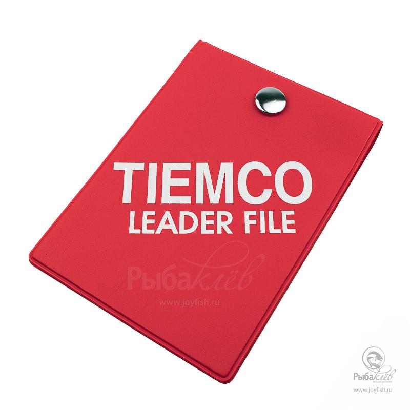 Кошелек для Лидеров Tiemco Leader File Red