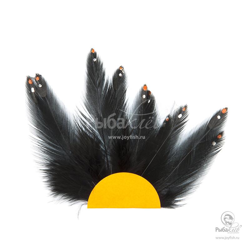 Имитация Перьев Джунглевого Петуха Veniard Jungle Cock Substitute скальп петуха veniard chinese cock cape