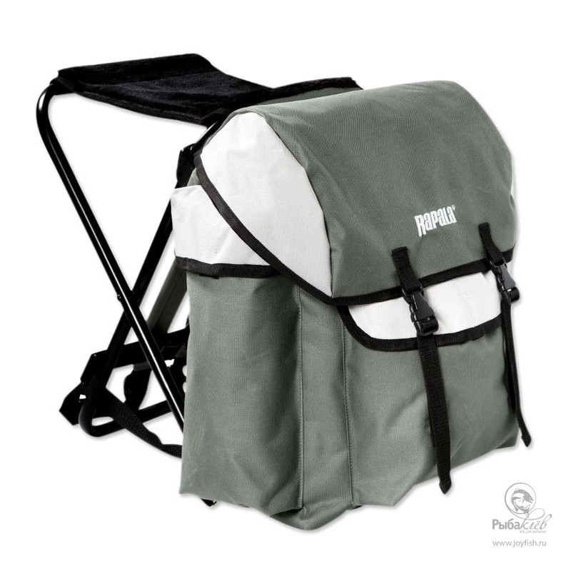 Рюкзак со Стулом Rapala Iceman рюкзак со стулом rapala chair pack