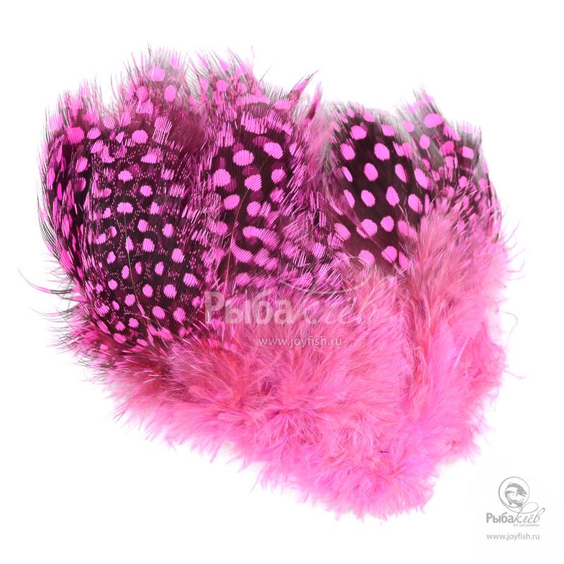 Перья Цесарки Hareline Strung Guinea Feathers