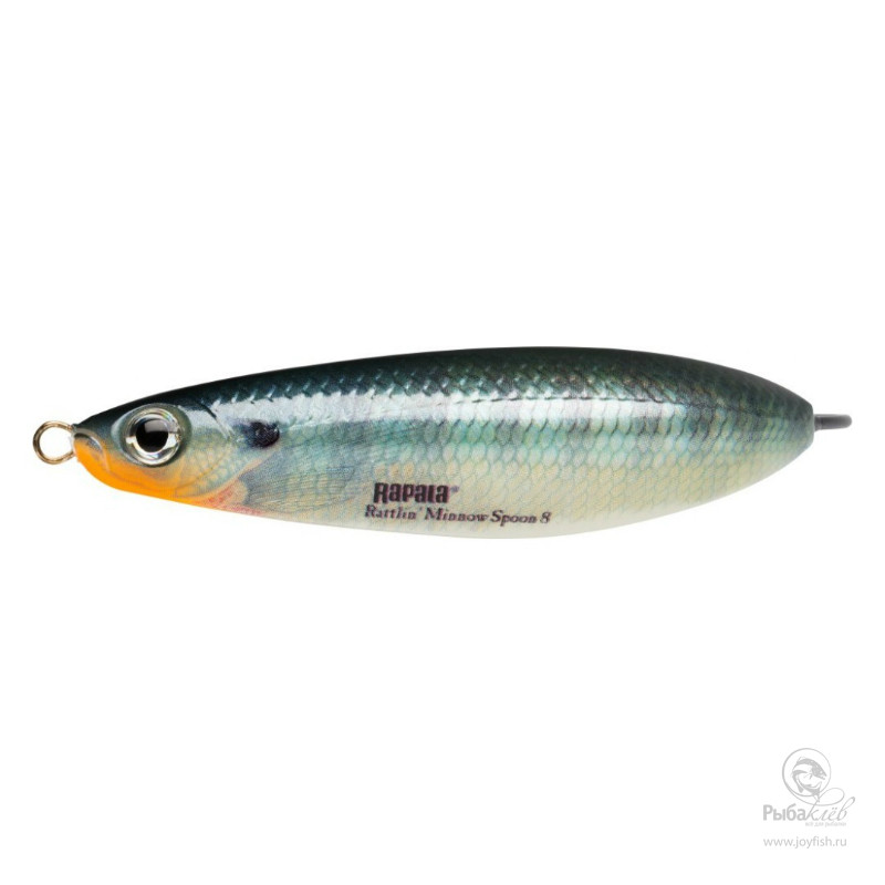 Блесна Rapala Rattlin Minnow Spoon воблер rapala rattlin