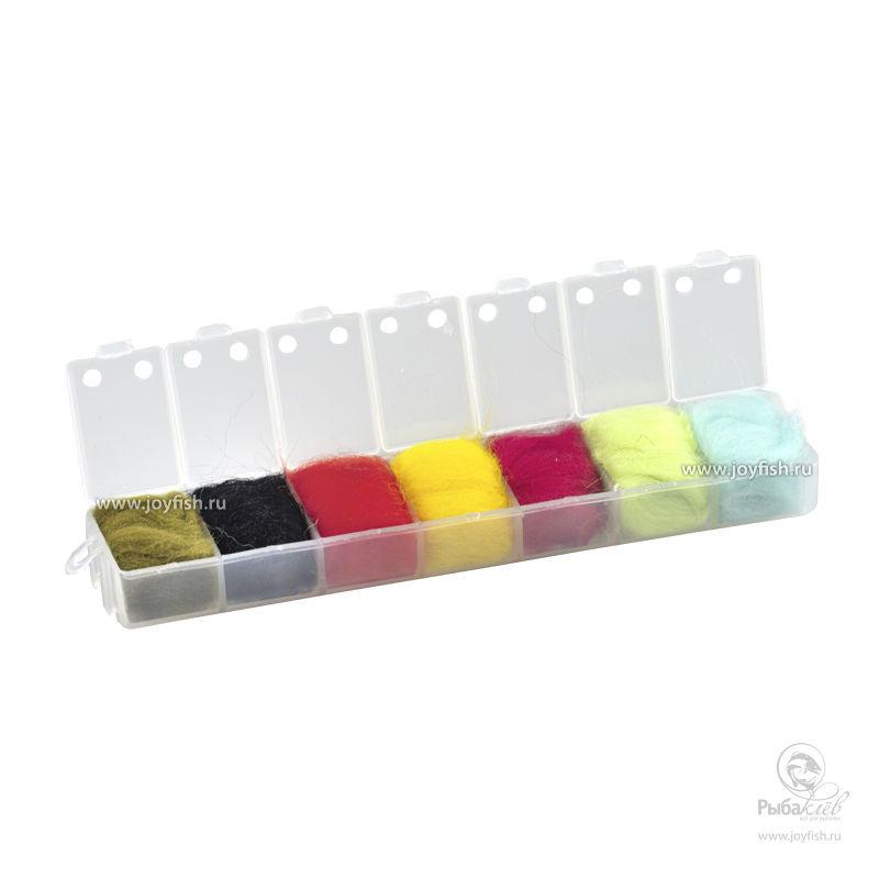 Набор Даббингов Joyfish Wool Bright Colors набор даббингов joyfish life cycle