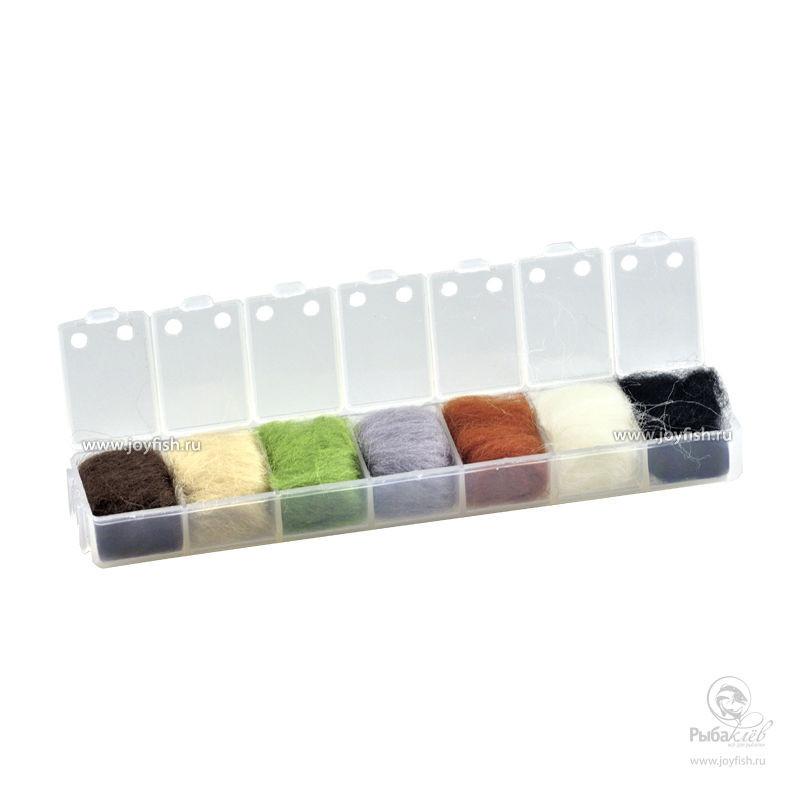 Набор Даббингов Joyfish Wool Natural Colors набор даббингов joyfish life cycle