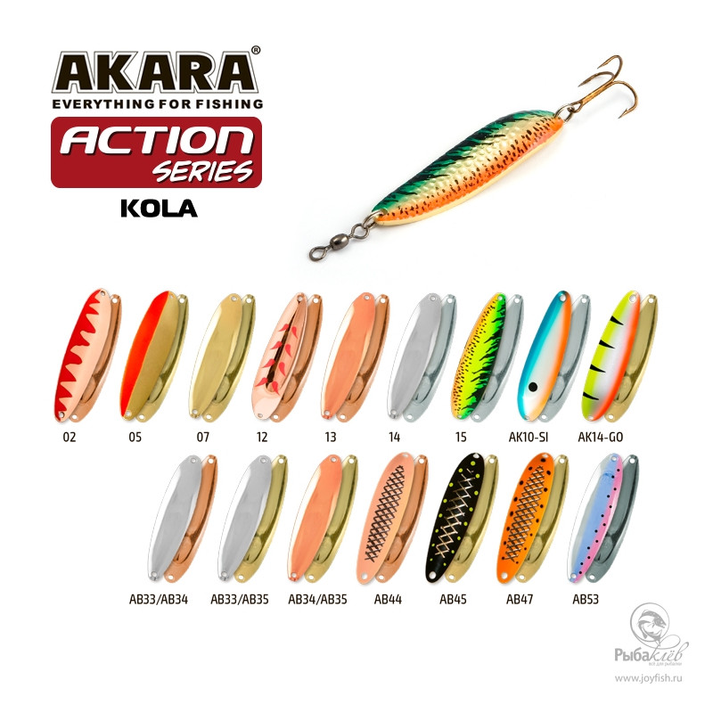 Блесна Akara Action Series Kola 70