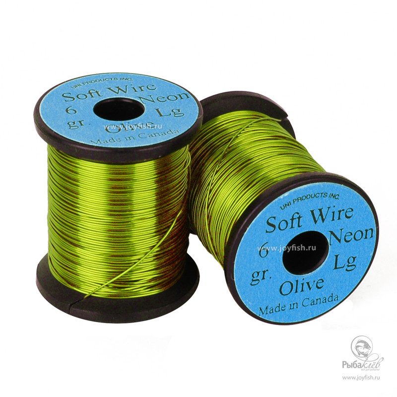 Проволока Uni Soft Wire Large Neon