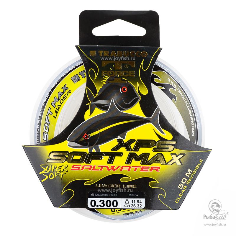 Поводковый Материал Trabucco T-Force XPS Soft Max Saltwater