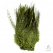 Перья Петуха Wapsi Strung Rooster Saddles Long over White