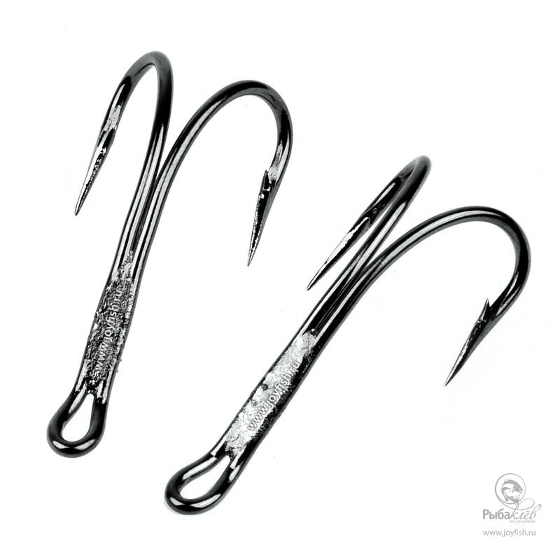 Крючок Двойной Fulling Mill Magni Double Salmon Black Nickel