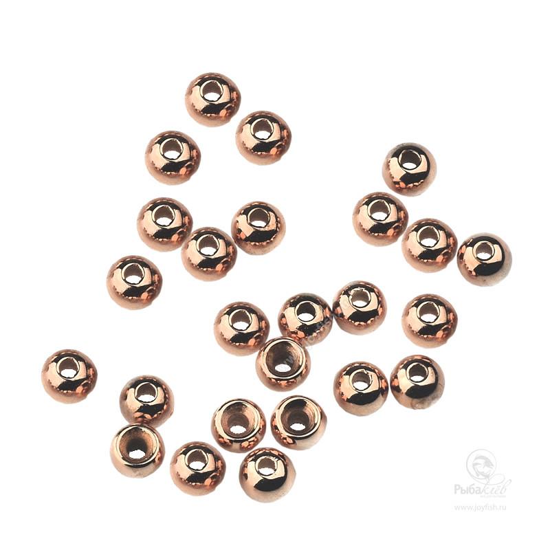 Головки Латунные Tiemco Bright Bead Copper