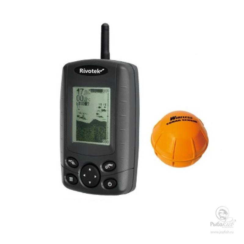 Эхолот Rivotek Fisher 30 Wireless Sonar эхолот rivotek fisher 10