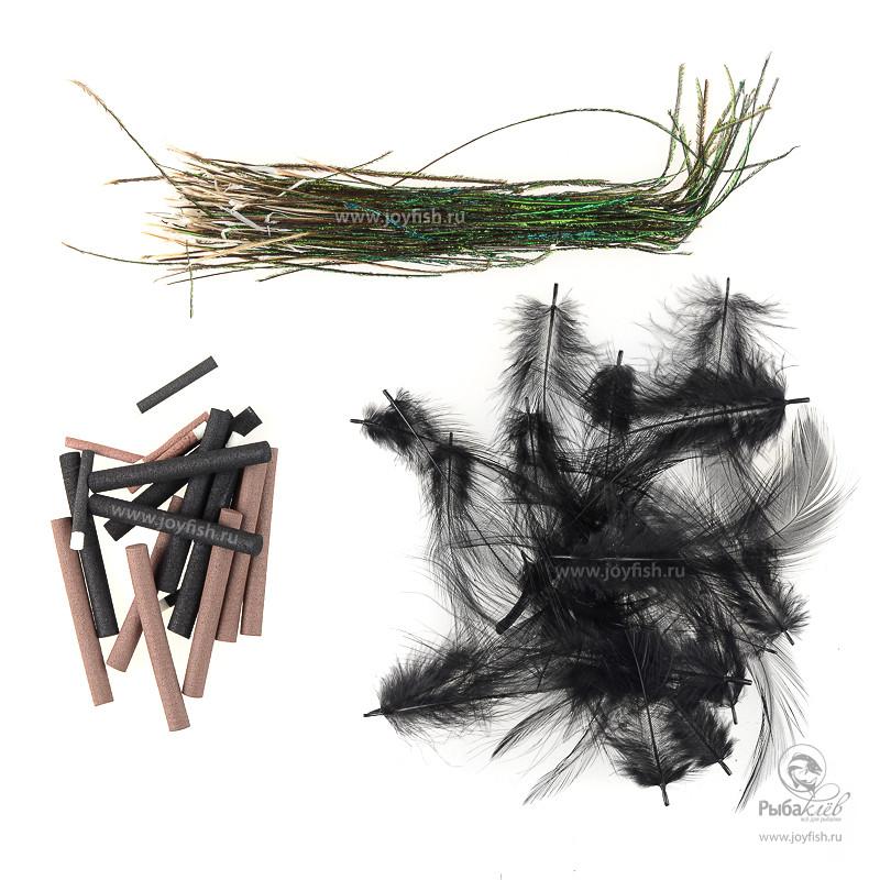 Набор для Имитации Тела Муравьев и Жуков Wapsi Ant Beetle Kit пленка для имитации спинки бокоплава wapsi sow scud back 1 13