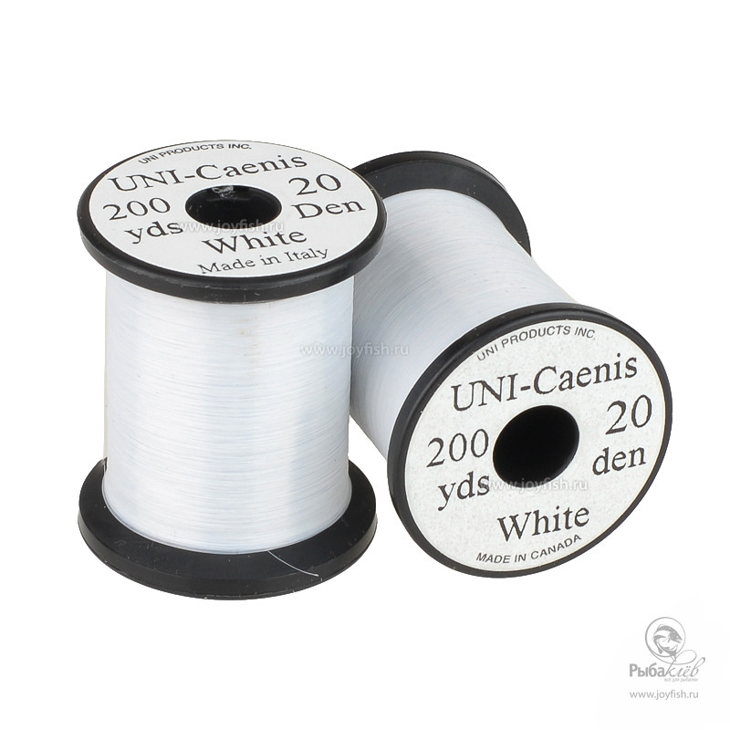 Монтажная Нить Uni Caenis White