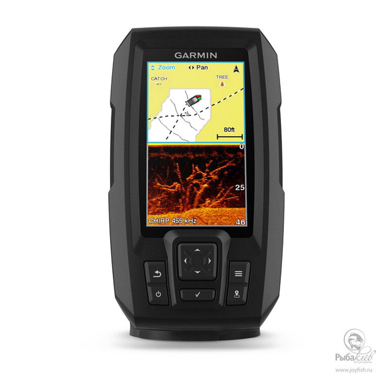 Эхолот Garmin Striker Plus 4cv стоимость