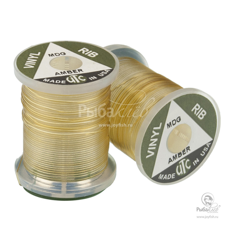 Материал для Сегментов Тела Мушки Utc Vinyl Round D Rib Midge