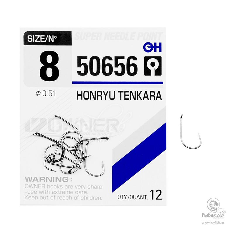 Крючки Одинарные в Упаковке Owner 50656 Honryu Tenkara