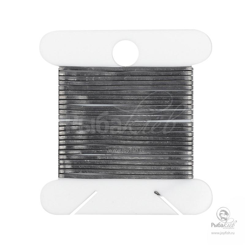 Проволока Плоская Veniard Flat Lead Wire Extra Fine outdoor 3 fingerless anti slip fishing gloves black grey pair