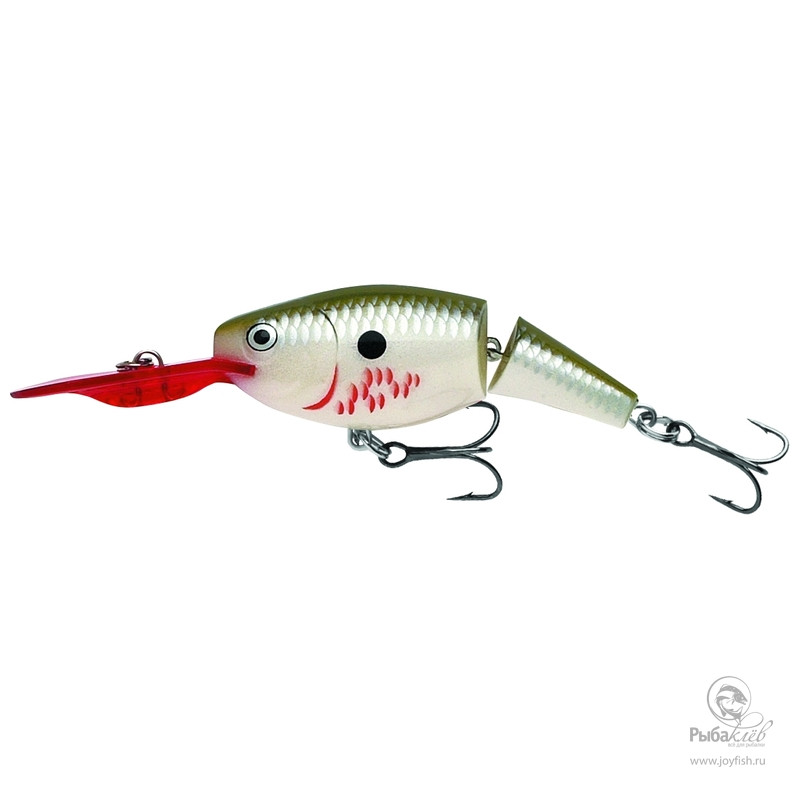 Воблер Rapala Jointed Shad Rap 05 воблер rapala countdown jointed 11