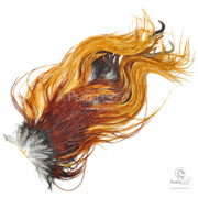 Седло Петуха Metz Micro Barb Rooster Saddle