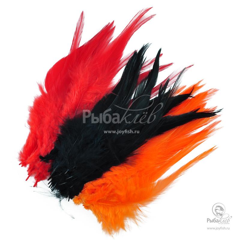 Набор Перьев Петуха Joyfish Strung Rooster Saddles Kit