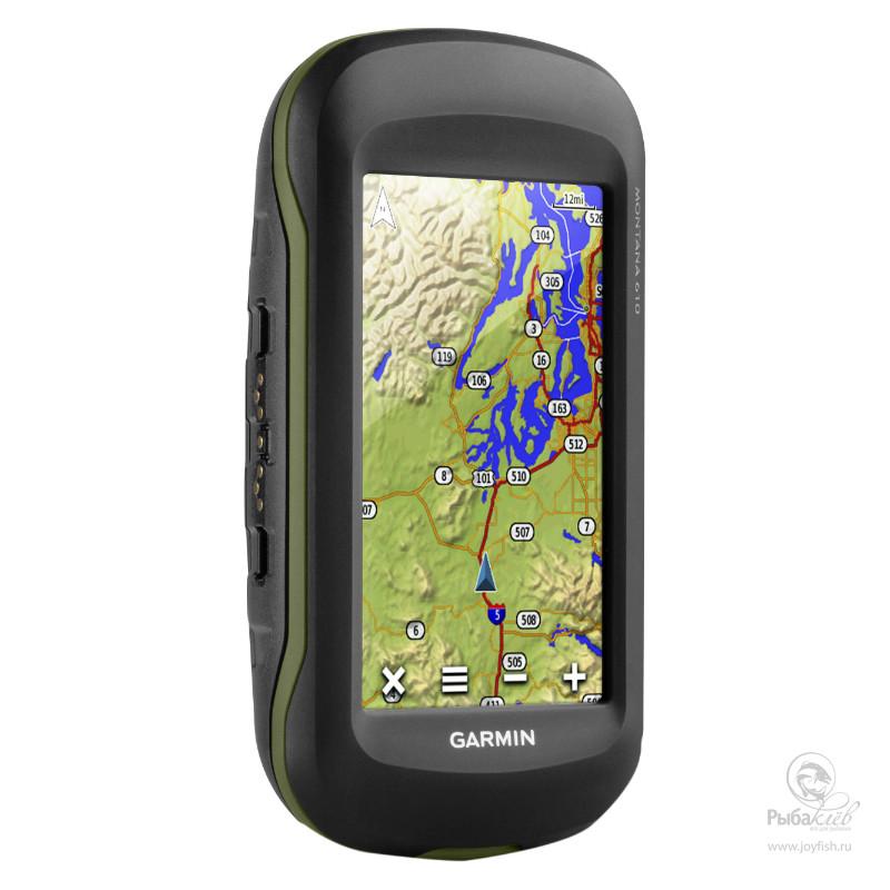 Туристический Навигатор Garmin Montana 610T GPS/GLONASS Topo Russia
